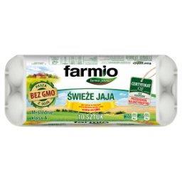 Jaja świeże od kur karmionych paszą z soją bez GMO M 10 sztuk