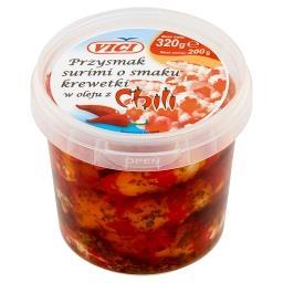 Przysmak surimi o smaku krewetki w oleju z chili
