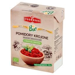 Bio Pomidory krojone z bazylią i oregano