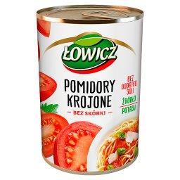Pomidory krojone bez skórki