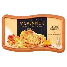 Lody o smaku Crème brûlée z sosem karmelowym
