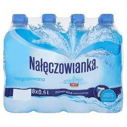 Naturalna woda mineralna niegazowana 8 x 0,5 l