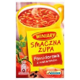 Smaczna zupa Pomidorowa z makaronem