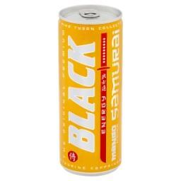 Energy Samurai Gazowany napój energetyzujący o smaku mango