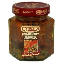 Mediterana Pomidory suszone w oleju z kaparami