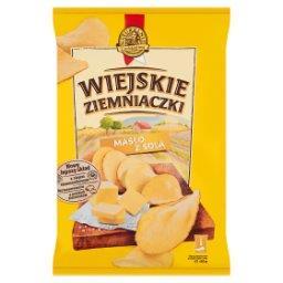 Chipsy ziemniaczane o smaku masła z solą
