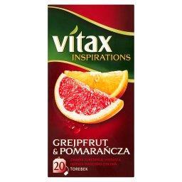 Inspirations Grejpfrut and Pomarańcza Herbata owocowo-ziołowa  (20 torebek)