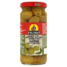 Zielone oliwki nadziewane pastą z papryki jalapeño