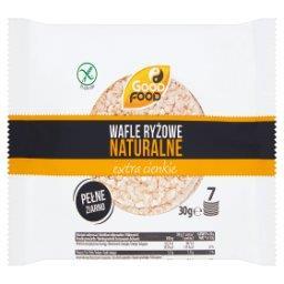 Naturalne wafle ryżowe extra cienkie  (7 sztuk)