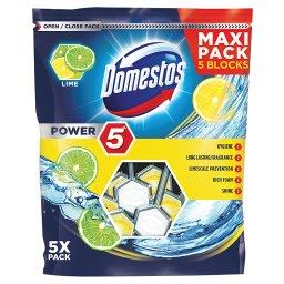 Power 5 Lime Kostka toaletowa