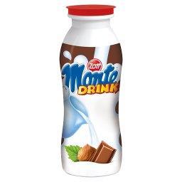 Monte Drink Napój mleczny z czekoladą i orzechami laskowymi