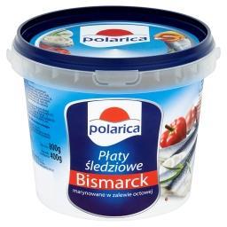 Płaty śledziowe Bismarck marynowane w zalewie octowej