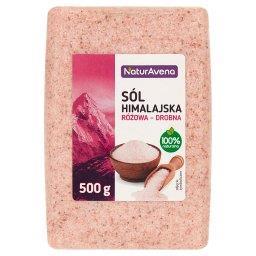 Sól himalajska różowa drobna