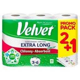 Extra Long Decor Ręcznik papierowy 3 rolki