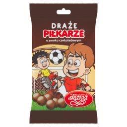 Piłkarze Draże o smaku czekoladowym