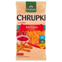 Chrupki o smaku keczupu