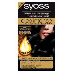 Oleo Intense Farba do włosów Intensywna czerń 1-10