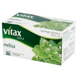 Zioła Melisa Herbata ziołowa 30 g (20 torebek)