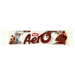Napowietrzona czekolada mleczna