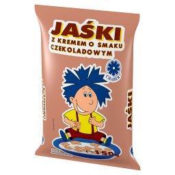 Jaśki z kremem o smaku czekoladowym Danie śniadaniowe
