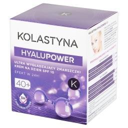 HyaluPower 40+ Ultra wygładzający zmarszczki krem na dzień SPF 10