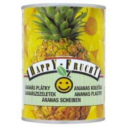 Ananas plastry
