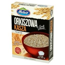 Premium Kasza orkiszowa 400 g (4 torebki)