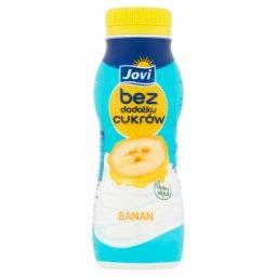 Jogurt bez dodatku cukrów banan
