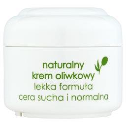 Naturalny krem oliwkowy lekka formuła cera sucha i normalna