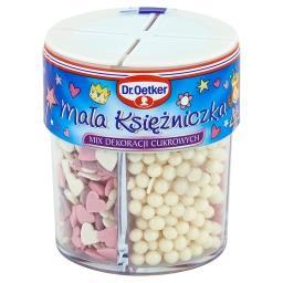 Mała księżniczka Mix dekoracji cukrowych