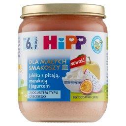 BIO Dla Małych Smakoszy Jabłka z pitają marakują i jogurtem po 6. miesiącu