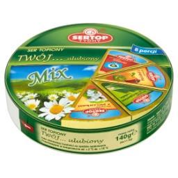 Tychy Twój... ulubiony Mix Ser topiony 140 g (8 porcji)