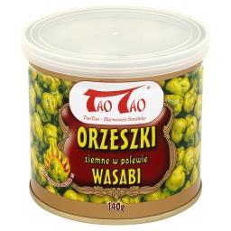 Orzeszki ziemne w polewie wasabi