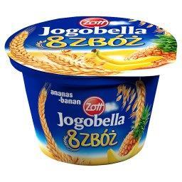 Jogobella 8 zbóż ananas-banan Jogurt