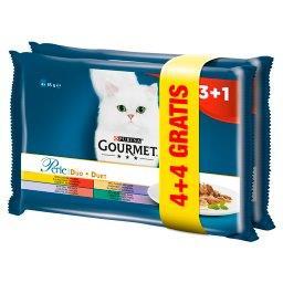 Perle Karma dla kotów kolekcja duet mięsny 680 g