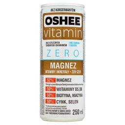 Vitamin Zero Magnez Napój gazowany o smaku jagód acai miechunki peruwiańskiej