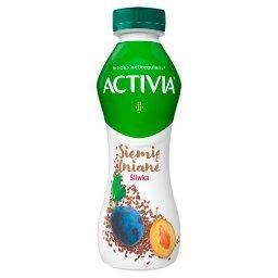 Activia Jogurt siemię lniane śliwka