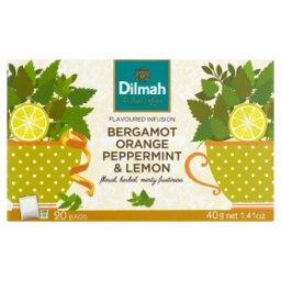 Zioła do zaparzania bergamotka pomarańcza mięta pieprzowa i cytryna 40 g