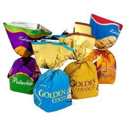 Złote Praliny Czekoladki z kremami