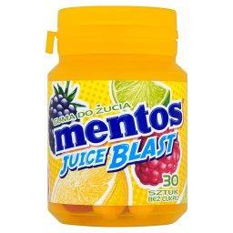 Juice Blast Guma do żucia bez cukru  (30 sztuk)