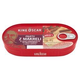 Filety z makreli w sosie pomidorowym po meksykańsku ...