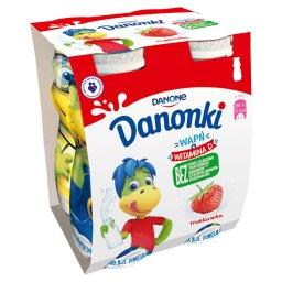 Danonki Jogurt truskawka 400 g (4 sztuki)