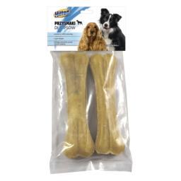 Kość prasowana naturalna dla psa 2 sztuki