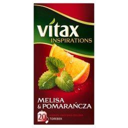 Inspirations Melisa and Pomarańcza Herbata owocowo-ziołowa  (20 torebek)
