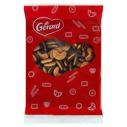 Kruche mini rogaliki z polewą kakaową