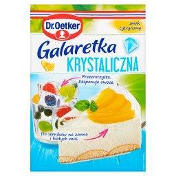 Galaretka krystaliczna smak cytrynowy
