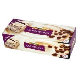 Lody o smaku waniliowym i cappuccino z polewą czekol...