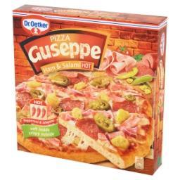 Guseppe Pizza z szynką i salami ostra