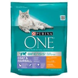 Coat & Hairball Karma dla dorosłych kotów bogata w kurczaka i pełne ziarna
