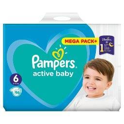Active Baby Rozmiar 6, 96 pieluszek, 13-18 kg
